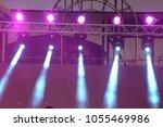 performance moving lighting on... | Shutterstock . vector #1055469986