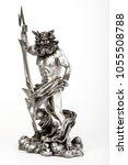 decorative figure of god zeus...   Shutterstock . vector #1055508788