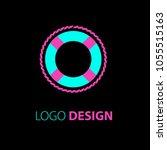 logo design. sailing logo... | Shutterstock . vector #1055515163