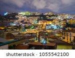 panoramic view of vomero...   Shutterstock . vector #1055542100