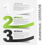 eps10  realistic design elements | Shutterstock .eps vector #105555158