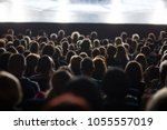 audience at the theater | Shutterstock . vector #1055557019