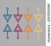 business infographic.vector... | Shutterstock .eps vector #1055559389