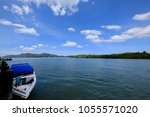 pak bara district  satun... | Shutterstock . vector #1055571020