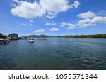 pak bara district  satun... | Shutterstock . vector #1055571344