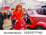 odessa  ukraine   april 1  2012 ... | Shutterstock . vector #1055577740