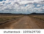 Farm Road In The Karoo  South...