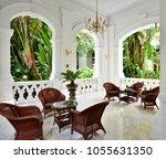 singapore   january 2017 wicker ... | Shutterstock . vector #1055631350