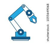 robotic arm icon | Shutterstock .eps vector #1055649068