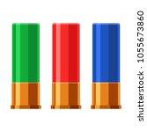 shotgun shell hunting... | Shutterstock .eps vector #1055673860