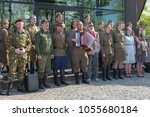 Small photo of Russia, Moscow, may 9, 2015, victory Day, dances and songs in the Park may 9 editorial