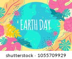 Earth Day. Vector Illustration...