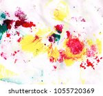 texture marbling yellow marble... | Shutterstock . vector #1055720369