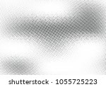 abstract halftone wave dotted... | Shutterstock .eps vector #1055725223