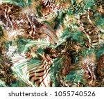 Tiger And Leoard Skin Background