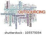illustration of wordcloud... | Shutterstock . vector #105575054