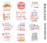 cook sign vector cooking or...   Shutterstock .eps vector #1055767838