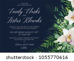 wedding invite  save the date...   Shutterstock .eps vector #1055770616