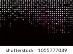 dark pink vector texture with... | Shutterstock .eps vector #1055777039