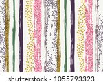 vector seamless pattern with... | Shutterstock .eps vector #1055793323