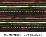 vector seamless pattern with... | Shutterstock .eps vector #1055810216