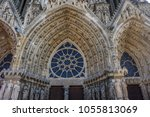 reims france march 25 2018 ... | Shutterstock . vector #1055813069