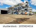 coconut grove  florida usa  ... | Shutterstock . vector #1055824016