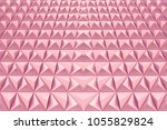 abstract 3d minimalistic... | Shutterstock . vector #1055829824