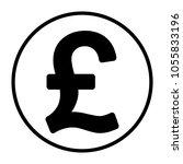 pound money icon | Shutterstock .eps vector #1055833196