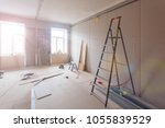 interior of apartment  during... | Shutterstock . vector #1055839529