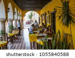 mexico  yucatan   february 17 ...   Shutterstock . vector #1055840588