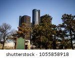 detroit  michigan  usa   march... | Shutterstock . vector #1055858918