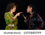 very emotional image of a...   Shutterstock . vector #1055880599