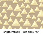 seamless patterns of the... | Shutterstock .eps vector #1055887754