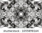 abstract movement soft black... | Shutterstock . vector #1055898164