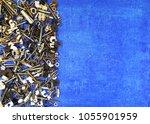 screws  nails  bolts  nuts ... | Shutterstock . vector #1055901959