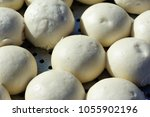 chinese food steamed buns in a...   Shutterstock . vector #1055902196
