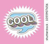 patch fashion denim   Shutterstock .eps vector #1055907656