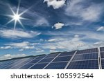 power plant using renewable... | Shutterstock . vector #105592544