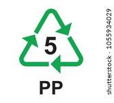 5 pp vector | Shutterstock .eps vector #1055934029