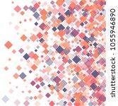 rhombus pattern minimal...   Shutterstock .eps vector #1055946890