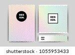 dark multicolor vector cover...