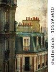 Parisian Town Houses In A...