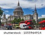 london  england   june 15  2016 ...   Shutterstock . vector #1055964914