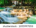Beautiful Erawan Waterfall ...