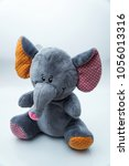 Plush Grey  Elephant Toy For...