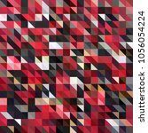 abstract colorful triangles for ...   Shutterstock .eps vector #1056054224