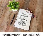 motivational quotes for daily... | Shutterstock . vector #1056061256