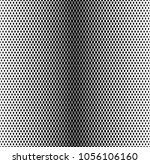 rhombus black and white... | Shutterstock .eps vector #1056106160