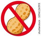 vector symbol promoting peanut...   Shutterstock .eps vector #1056126593
